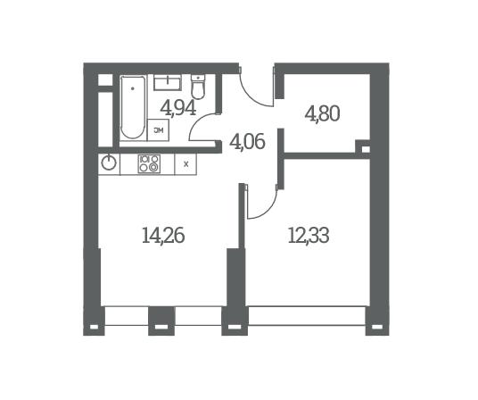 Однокомнатные квартиры в ЖК Headliner